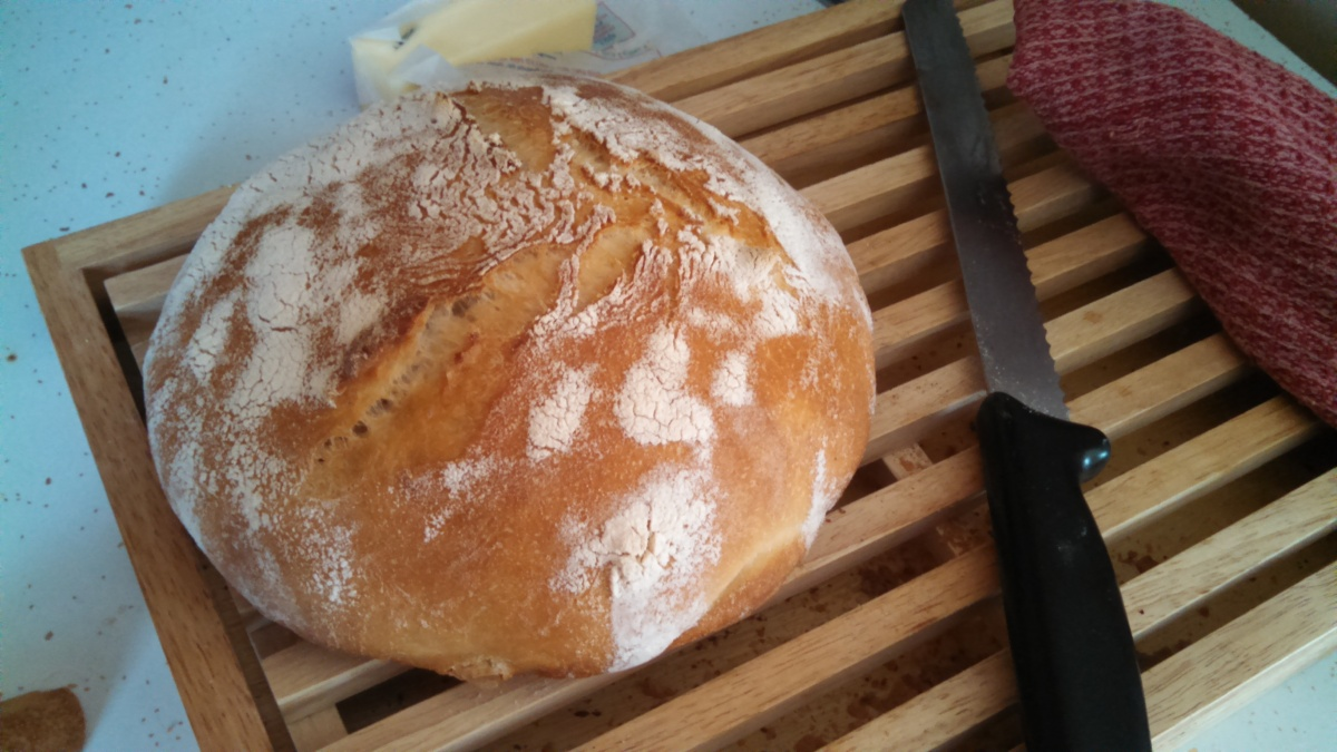 Embracing Imperfection: Sourdough Bread